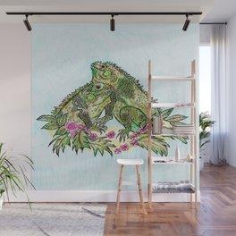 Las Iguanas Wall Mural