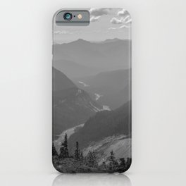 Nisqually River Valley iPhone Case