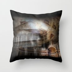 The Pantheon Rome Italy Throw Pillow