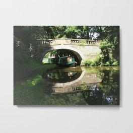 LANCASTER CANAL  Metal Print