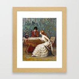 Ask the Cards Framed Art Print