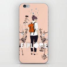 The Wilderness iPhone & iPod Skin