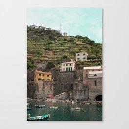 Cinque Terre Photo Canvas Print