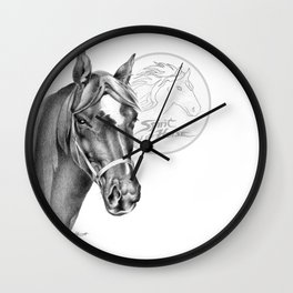 Barney the Hunter: Spirit of the Horse Wall Clock
