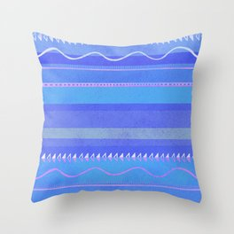 nayarit, twilight Throw Pillow