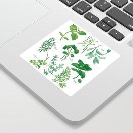 Kitchen Herbs Sticker