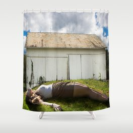 Giantess Shower Curtain