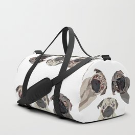 Triple Pugs Duffle Bag
