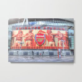 Arsenal FC Emirates Stadium London Metal Print