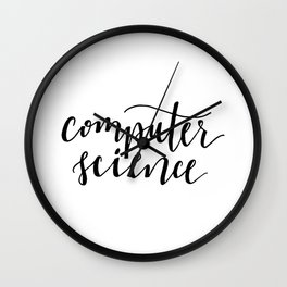computer science Wall Clock