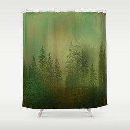 Nostalgic Forest Shower Curtain