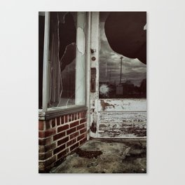 {another time, another town} Canvas Print