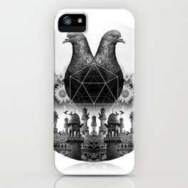 Town and Country Pigeon iPhone Case