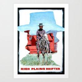 High Plains Drifter Poster Art Print