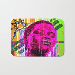 Into the groove Bath Mat