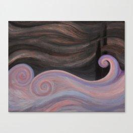 PALE SEA Canvas Print