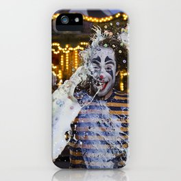 Clown Fruit Loops Milking - Le Grand Spectacle du Lait // The Grand Spectacle of the Milking iPhone Case