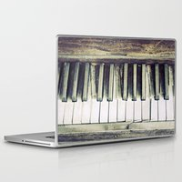 piano Laptop & iPad Skins featuring piano by hilde.