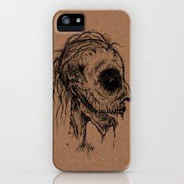 Dead Zombie iPhone Case