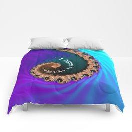 Midnight Octopus Comforters