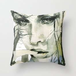 From the ground and the forests Throw Pillow