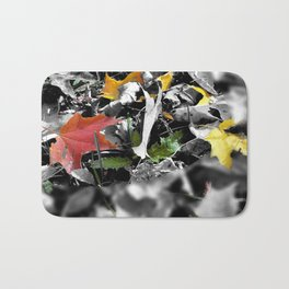 colors in contrast Bath Mat