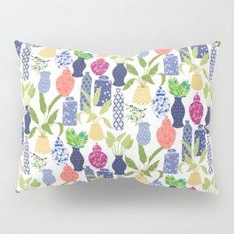 Chinoiserie Vases Pillow Sham