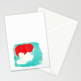 Red & Green Stationery Cards