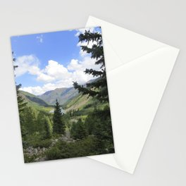 outlook maroon bells Stationery Cards