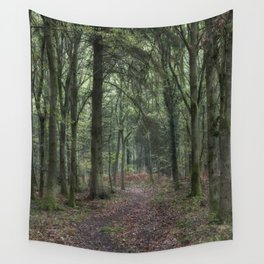 Footpath through the Oaks Wall Tapestry