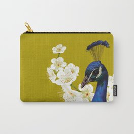 Peacocks and Cherry Blossoms Carry-All Pouch