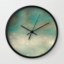 Postcard from Pluto Wall Clock