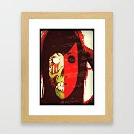MONSTERFACE Framed Art Print