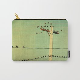 Retro Tweeters Carry-All Pouch
