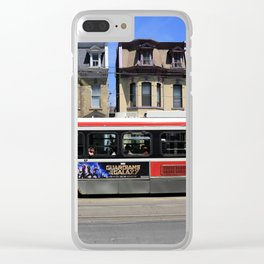 Red Rocket 26 Clear iPhone Case
