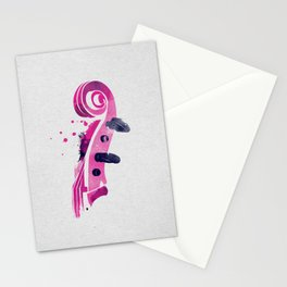 Symphony Series: The Violin Stationery Cards
