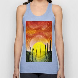 NEOLITHIC OTHERWORLDS Unisex Tank Top