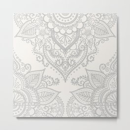 BOHO ORNAMENT 1A Metal Print