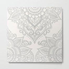 BOHO ORNAMENT 1A Metal Print