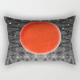 Bodacious Blood Moon Rectangular Pillow