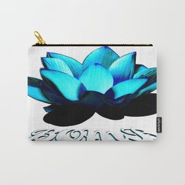 Lotus Flower Bomb Carry-All Pouch