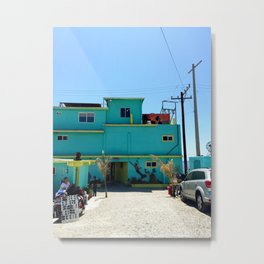 Beachside Eats Metal Print