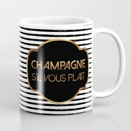 Champagne S'il Vous Plait Coffee Mug