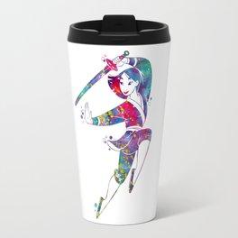 Princess Mulan Travel Mug