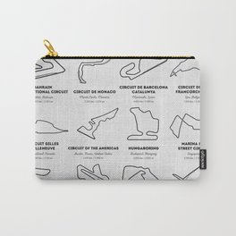 The Grand Prix Circuits Carry-All Pouch