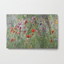 Meadow Flowers Metal Print