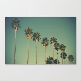 Hollywood Summer Canvas Print