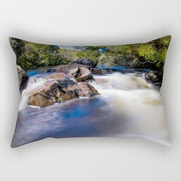 Waterfall on the Overland Track Tasmania Rectangular Pillow