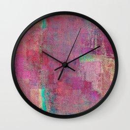Lake Retba (Lac Rose) Wall Clock