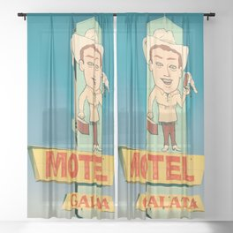 Motel Galata Sheer Curtain